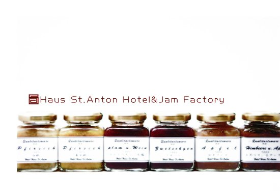 Hotel Haus St.Anton: home made jams