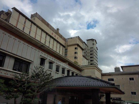 Kimpaso : 旅館外観