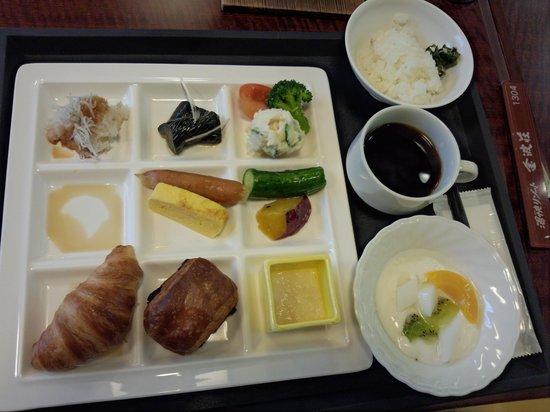 Kimpaso : 朝食バイキング