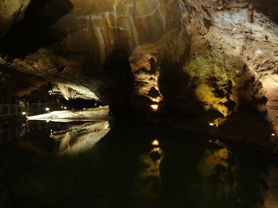 Grottes de Lacave: dans la grotte