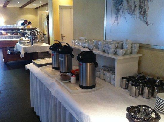 Neuhaus Golf and Strand Hotel: Breakfast in Hotel