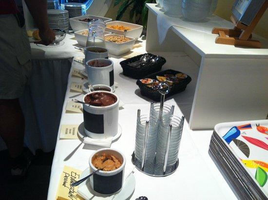 Neuhaus Golf and Strand Hotel : Breakfast in Hotel
