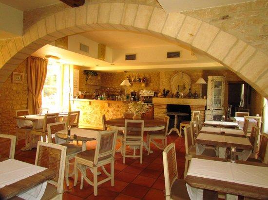 Le Moulin de Mitou : salle à manger