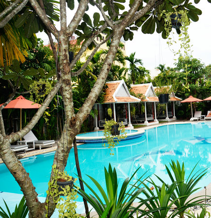 Memoire d' Angkor Boutique Hotel: Swimming Pool