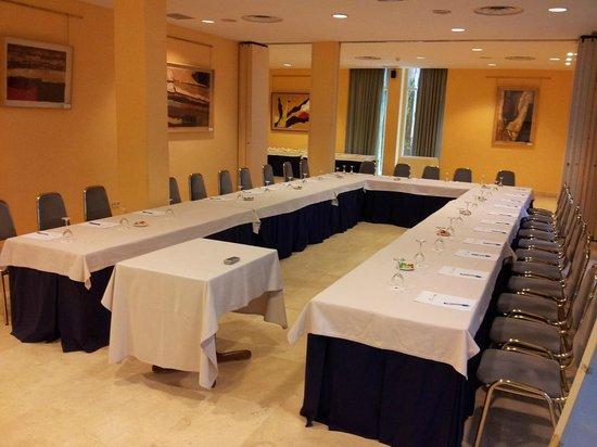 Hotel Majadahonda: SALONES DE REUNIONES PINOS + MADROÑOS