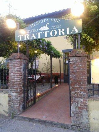 Il Vecchio Cigno : Ottimo ristorante con cucina tipica fiorentina, ottime grigliate.Davanti all'Arno, ampio giardin