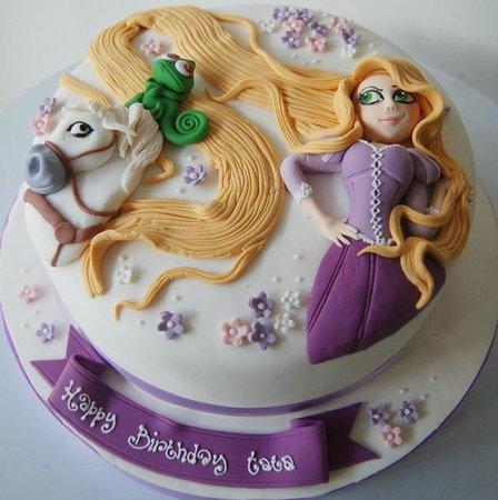 Rapunzel Birthday Cake Images