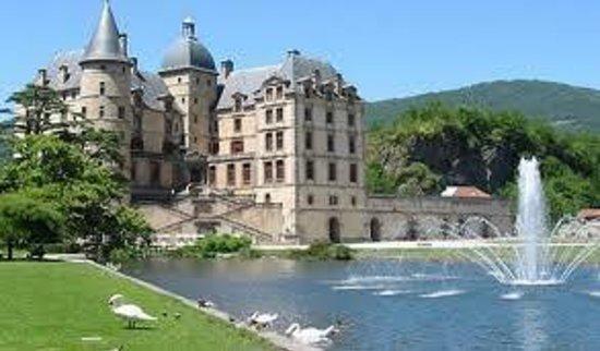 Chateau De Vizille, Near Grenoble, France Stock Photo