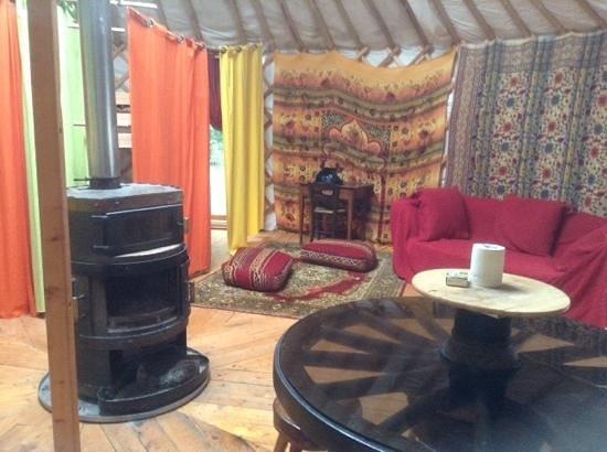 Camping Mille Etoiles: la yourte
