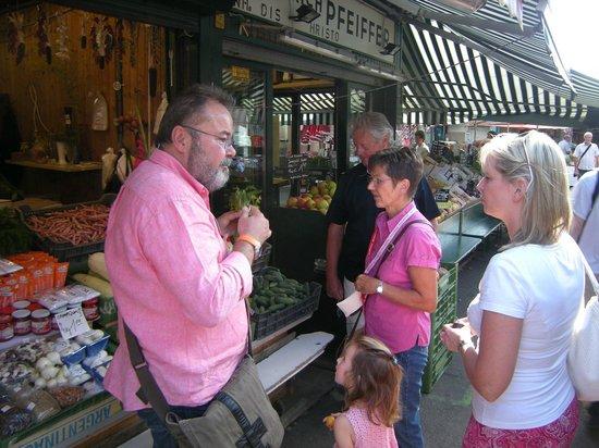 Peters Naschmarkt Genuss-Spaziergaenge