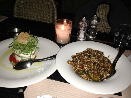Canteen: teriuaky salad