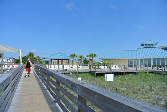 Litchfield Beach & Golf Resort: пляж