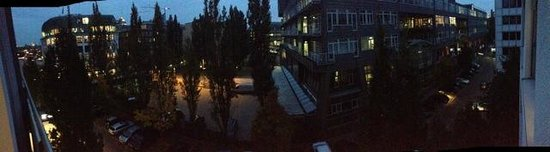 The Madison Hamburg : View from balcony (4th Floor)