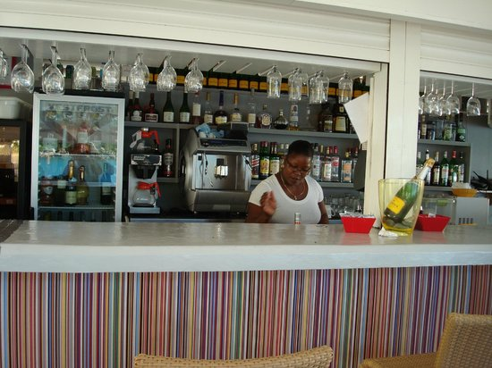 Grand Case Beach Club: Sunset Cafè sul posto