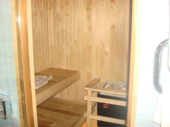Tervise Paradiis Spa Hotel & Water Park: сауна в номере