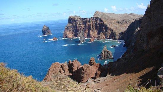 Orca Praia Hotel : Вот такие панорамы есть на Мадейре