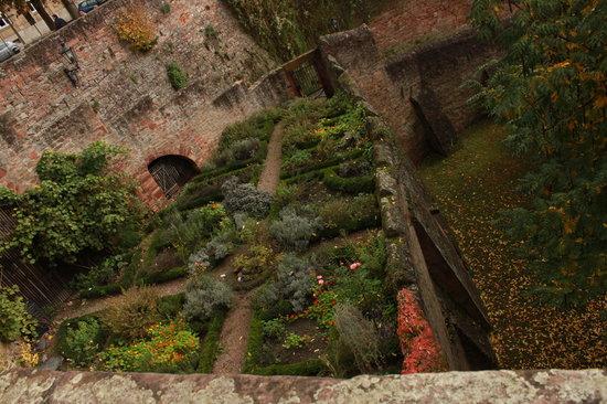Schloss Johannisburg mit Schlossanlagen: Garten