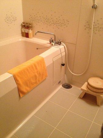 Hotel Keisui: バスルーム。