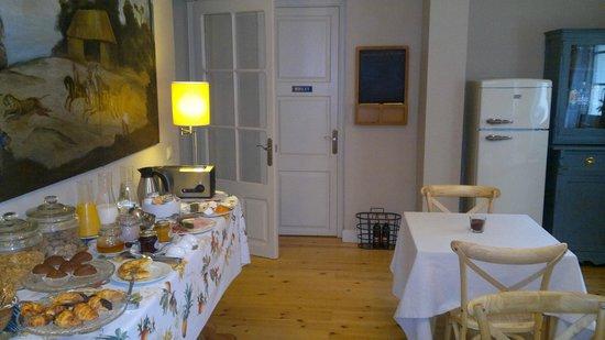 l'Hort de Sant Cebria : Sala d'esmorçar