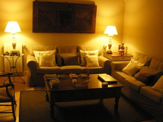 L'Hort de Sant Cebrià: Sala d'Estar