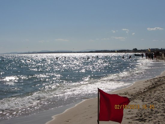 Dessole Le Hammamet Resort : Блеск солнца на воде-это сказочное зрелище.