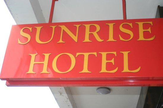 Sunrise Hotel: logo