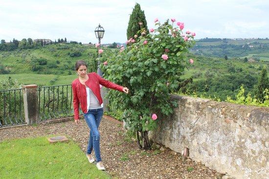 Villa Talente: The garden and view