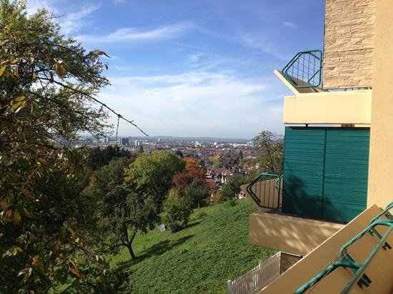 Mercure Hotel Panorama Freiburg - Chez Eric: Blick vom Balkon