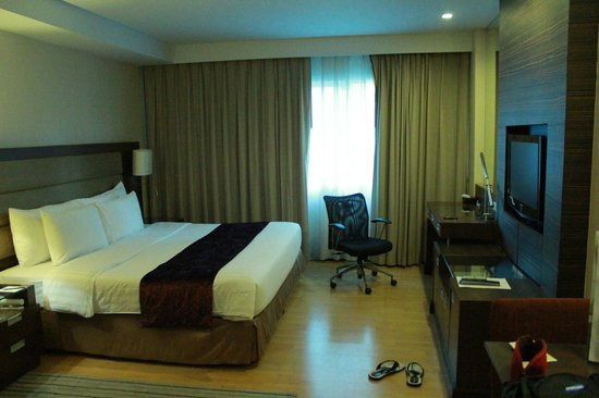 Legacy Suites Sukhumvit by Compass Hospitality : Our room