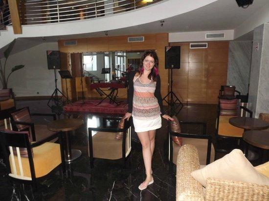 Hotel Timoulay & Spa Agadir : Тут каждый вечер живая музыка