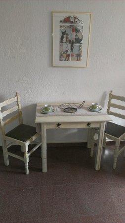 Villa Galini : Dining table