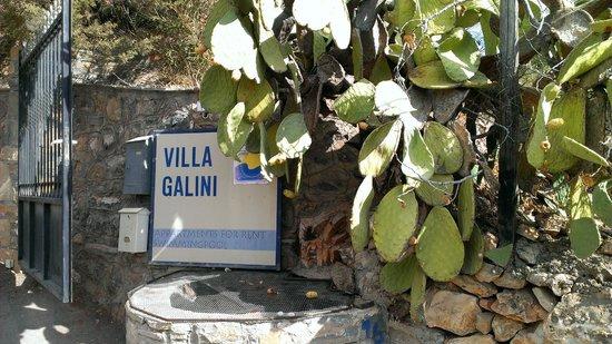 Villa Galini: Entrance