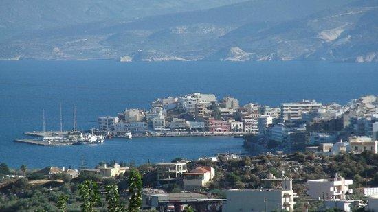 Villa Galini : Agios Nikolaos harbour