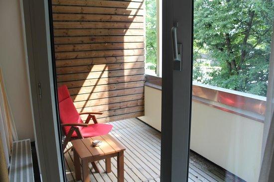 Hotel Rothof Bogenhausen: Балкон-терраса