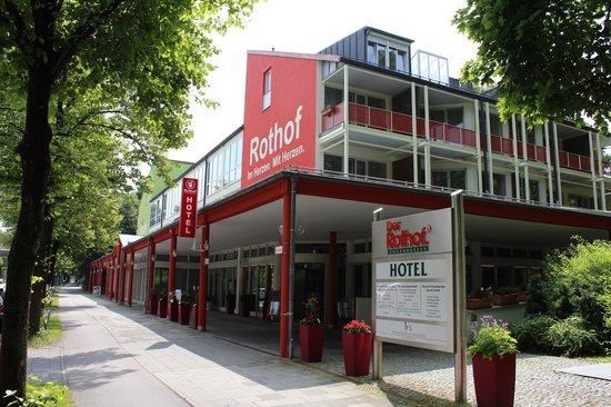 Hotel Rothof: Вид на отель с улицы