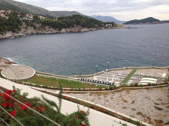 Rixos Hotel Libertas: Vista desde la terraza