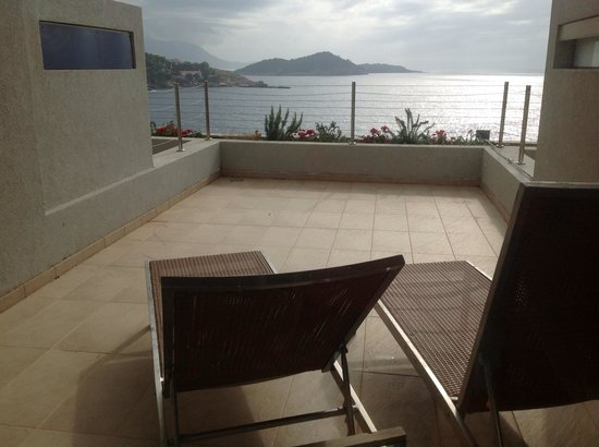 Rixos Hotel Libertas: Terraza