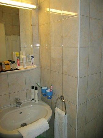 Hotel Admiral Geneva: Bathroom