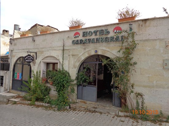 Caravanserai Cave Hotel: Fachada do hotel