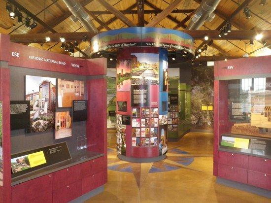 Frederick Visitor Center : Inside Visitor Center