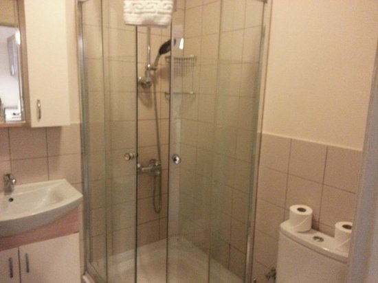 Three Apples Taksim Suites: Shower