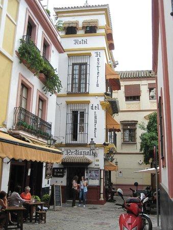 Initial View of Hosteria del Laurel