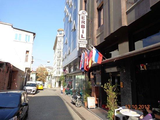Erbil Hotel: Fachada do hotel