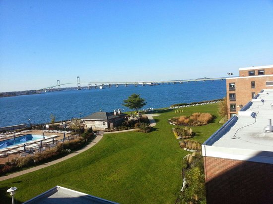 Hyatt Regency Newport: The view from room 515.