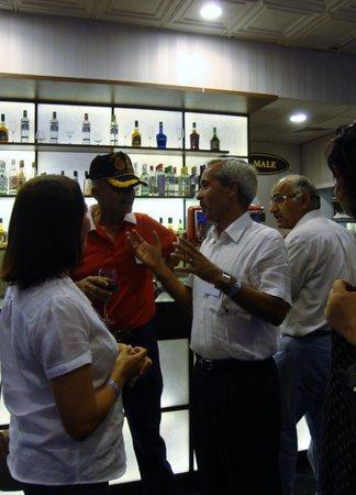 Casino Royale Goa: One of the bars.