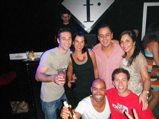 Lemoniada Club: Our group in a good night on Lemoniada...just in the final a sad ending!!