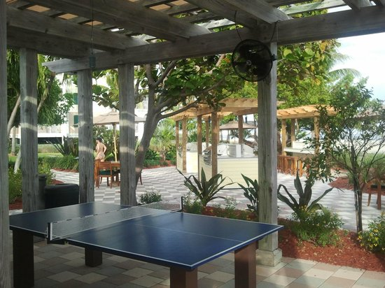Hyatt Beach House Resort: ping pong