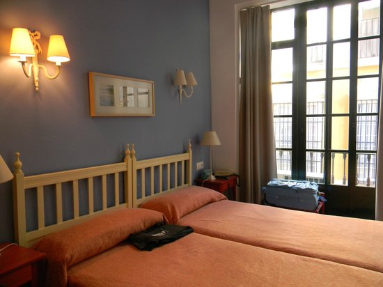 Hotel Londres: camera