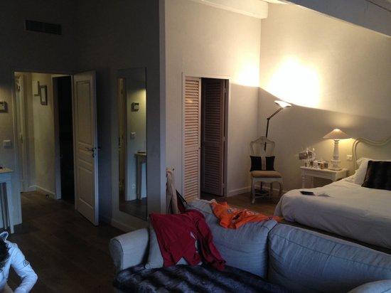 Hotel Le Clos St Martin : suite Prestige