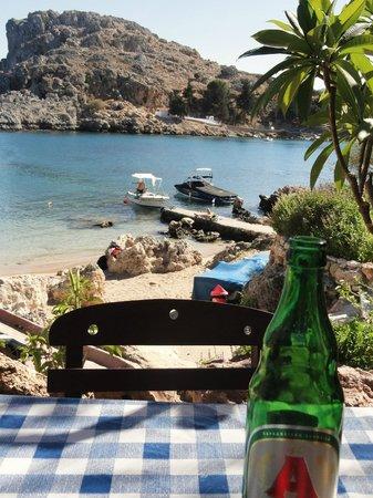 Agios Pavlos Beach (Saint Paul): little beach St Pauls